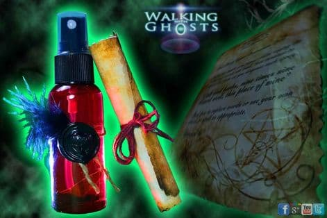 9 Herb Home Protection Talisman Spray Wiccan Smudge Cleanse Spell Witchcraft